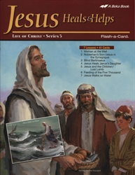 Jesus Heals & Helps Flash-a-Cards