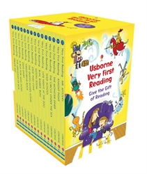 Usborne Very First Reading - Boxed Set