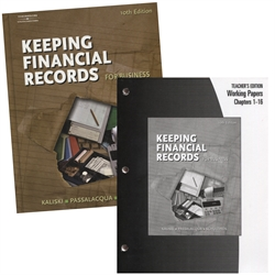 Keeping Financial Records for Buisness - Textbook & Teacher's Edition
