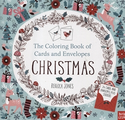 Coloring Book of Cards and Envelopes: Christmas