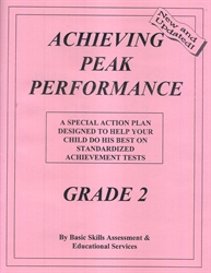 Achieving Peak Performance Grade 2 - Action Plan