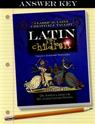 Latin for Children Primer B - Answer Key (old)