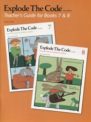 Explode the Code 7 & 8 - Teacher's Guide