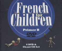 French for Children Primer B - DVDs
