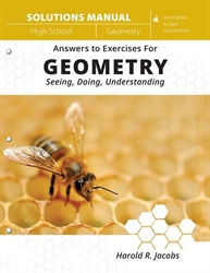 Geometry: Seeing, Doing, Understanding - Solutions Manual