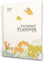 2017-2018 Student Planner - Floral Style