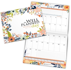 Well-Planned Day - Wall Calendar 2017-2018