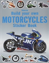 Build Your Own Motorcycles Sticker Book