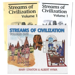 Streams of Civilization Volume One - Set (old)