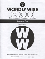 Wordly Wise 3000 Book 2 - Answer Key