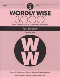 Wordly Wise 3000 Book 2 - Tests