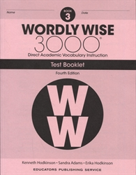 Wordly Wise 3000 Book 3 - Tests