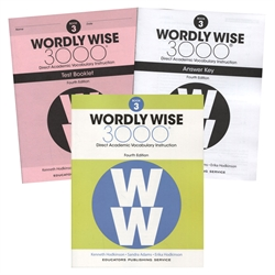Wordly Wise 3000 Book 3 - Set