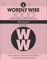 Wordly Wise 3000 Book 4 - Tests