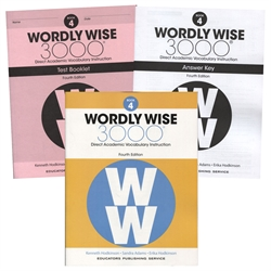 Wordly Wise 3000 Book 4 - Set