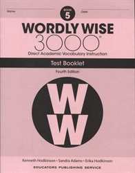 Wordly Wise 3000 Book 5 - Tests