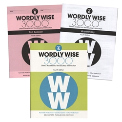 Wordly Wise 3000 Book 6 - Set