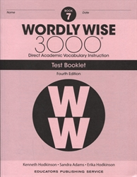 Wordly Wise 3000 Book 7 - Tests