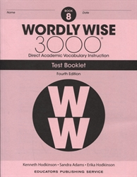 Wordly Wise 3000 Book 8 - Tests