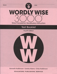 Wordly Wise 3000 Book 9 - Tests