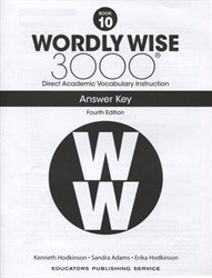 Wordly Wise 3000 Book 10 - Answer Key