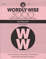 Wordly Wise 3000 Book 10 - Tests