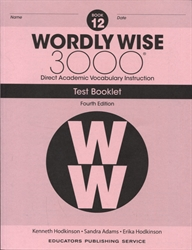 Wordly Wise 3000 Book 12 - Tests