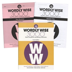 Wordly Wise 3000 Book 12 - Set