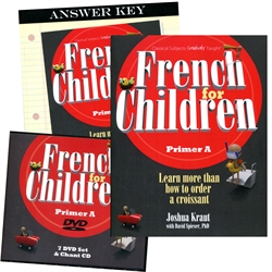 French for Children Primer A - Set