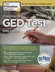 Cracking the GED Test, 2018 Edition