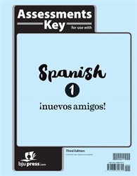Spanish 1 - Tests Answer Key