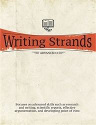 Writing Strands Advanced 1