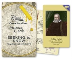 Classical Conversations Famous Scientists - Science Cards