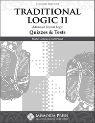 Traditional Logic II - Quizzes & Final Exam
