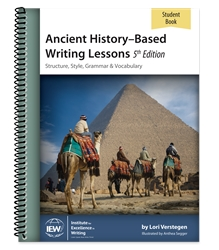 Ancient History-Based Writing Lessons - Student Book