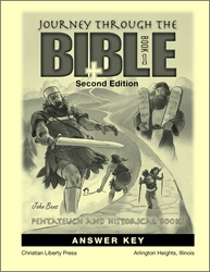 Journey Through the Bible Book 1 - Answer Key