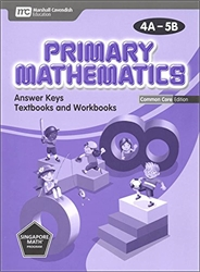 Primary Mathematics 4A-5B Answer Key CC