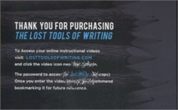 Lost Tools of Writing Level 2 - Video Access (digital download)