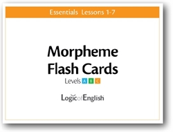 LOE Essentials Volume 1 - Morpheme Flash Cards Set