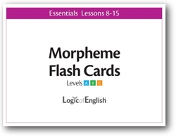 LOE Essentials Volume 2 - Morpheme Flash Cards Set