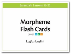 LOE Essentials Volume 3 - Morpheme Flash Cards Set