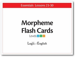LOE Essentials Volume 4 - Morpheme Flash Cards Set