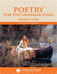 Poetry for the Grammar Stage - Student Guide