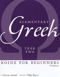 Elementary Greek Year Two - Workbook
