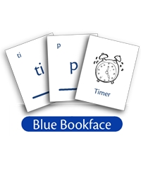 LOE Phonogram Game Cards - Blue Bookface