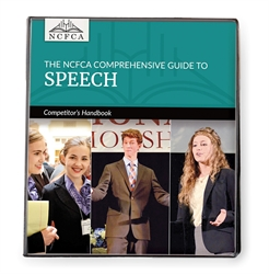 NCFCA Comprehensive Guide to Speech - Competitor's Handbook