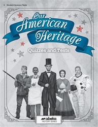 Our American Heritage - Test/Quiz Book