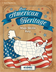 Our American Heritage - Map Skills Key
