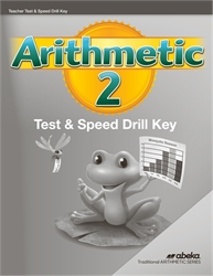 Arithmetic 2 - Tests/Speed Drills Key