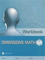 Dimensions Math 6A - Workbook